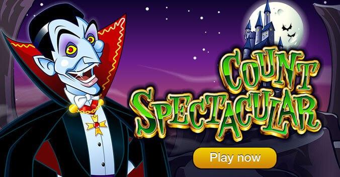 Призрачный мир вампиров ( Count Spectacular) обзор игры для слота