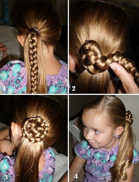 Учимся делать причёски KitaClub - лучший портал для девочек!