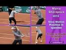 2015 Maria Sharapova Slow Motion Practise in spandex
