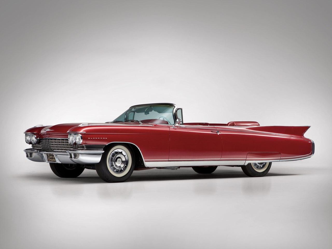 Одно из ярких исполнений панорамного стекла - General Motors 1959-1960 годов (автомобиль на фото - Cadillac Eldorado Biarritz 1960 года)
