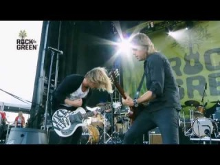 "Switchfoot  - Dark Horses (Performs at Rock the Green (Subtitulado) en vivo ""live"")"