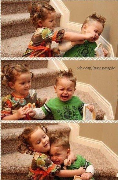 Коротко об отношениях между мужчиной и женщиной:))