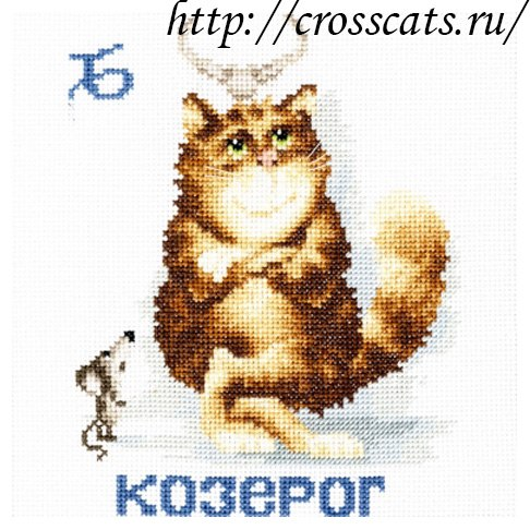 Знак зодиака Козерог cat102
