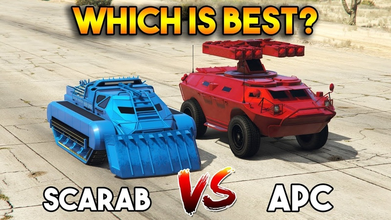 GTA 5 ONLINE SCARAB VS APC (WHICH IS BEST)
