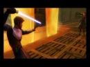 Star Wars: The Clone Wars - Lightsaber Duels (Wii) Gameplay: Anakin Skywalker vs Obi-Wan Kenobi