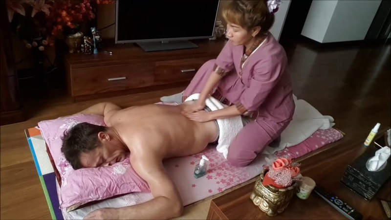 Real Thai massage (oil) Step By Step.. By Alina MV.6