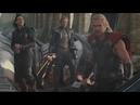 Тор 2 Тор, Джейн, и Локи бегут из Асгарда
