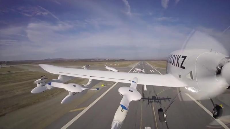 Компания Ларри Пейджа показала испытания беспилотного воздуш