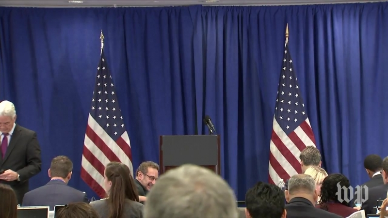 Senior Trump administration officials hold briefing
