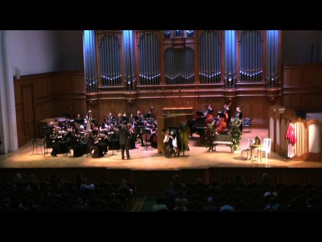 Сцены из оперы Свадьба Фигаро, Моцарт, 12. 05. 2017
