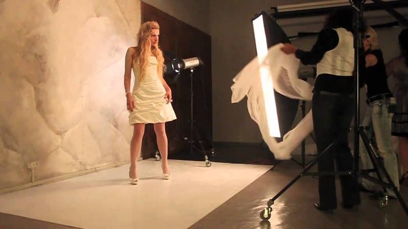 Backstage-2 with Irina Blondes - Snow Q