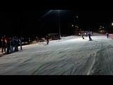 20 января на Газпром Лаура установили рекорд по спуску с гор с факелами