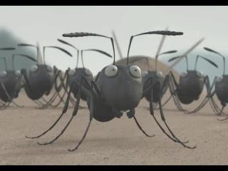 Полнометражный мультфильм «Букашки 3D» 2014 / Смотреть тизер