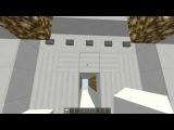Очень надежный механический вход с кодовым замком и датчиком движения Minecraft 1.5.2