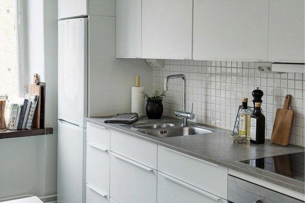 Небольшая кухня 7 кв.