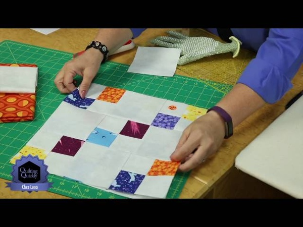Quilting Quickly: Chez Luna -- Quilting for Beginners Advanced Quilters