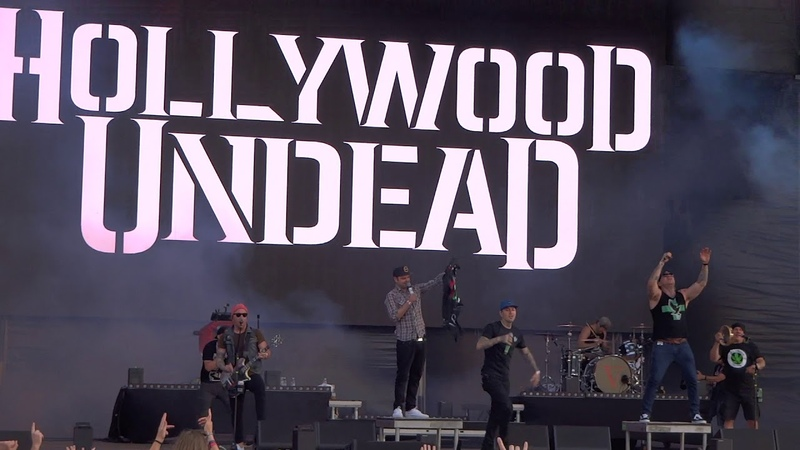 Hollywood Undead Riot @Live in Volt Festival Sopron