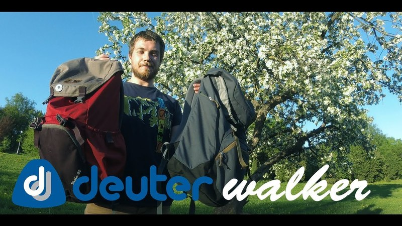 Deuter Walker | Обзор рюкзака | Subtitles