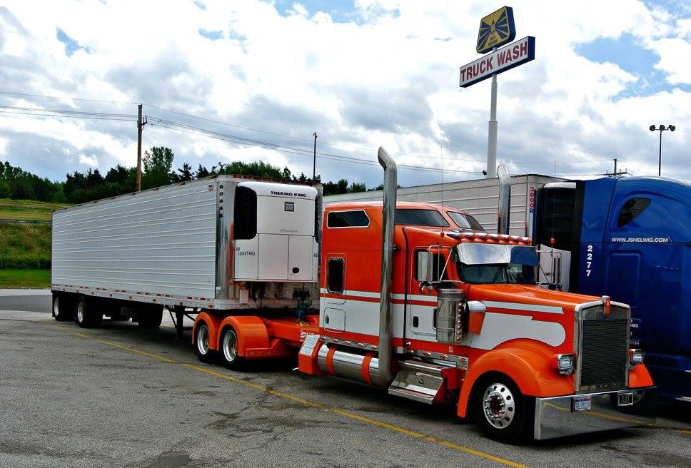 На каких грузовиках работают американцы