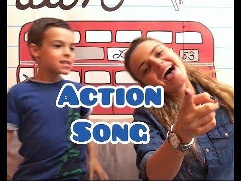 Action Song. Зарядка на английском