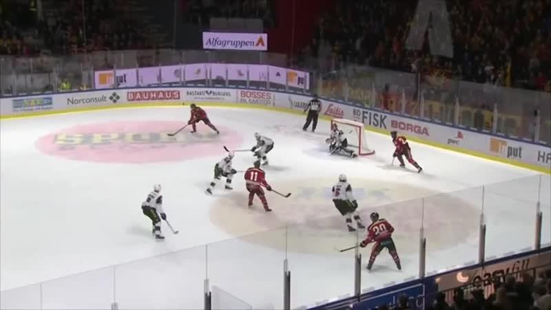 Luleå vs Malmö Redhawks Omgång 11 (1819) HIGHLIGHTS