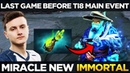 LIQUID vs VP Miracle First Time New Immortal Storm Spirit Last Game Before TI8 Main Event Dota 2