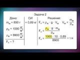 Урок 4.36 Решение задач на расчет выталкивающей силы (7 класс)