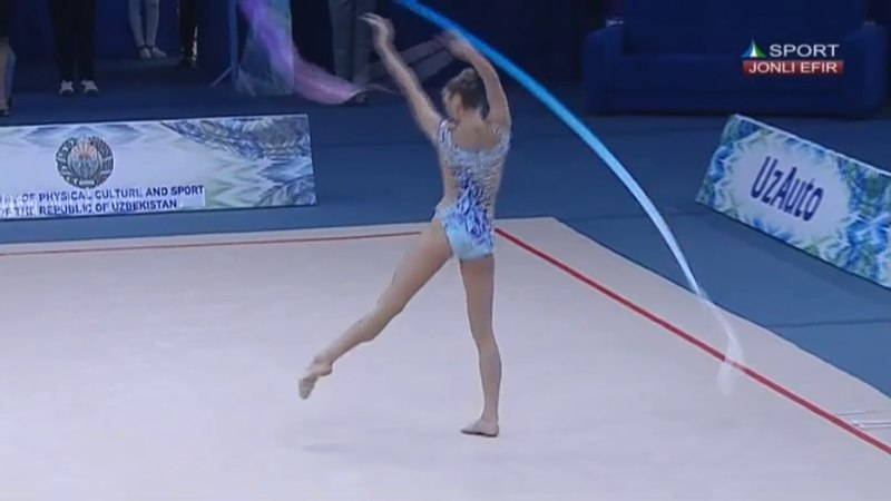 Aleksandra Soldatova - Ribbon AA - WC Tashkent 2018