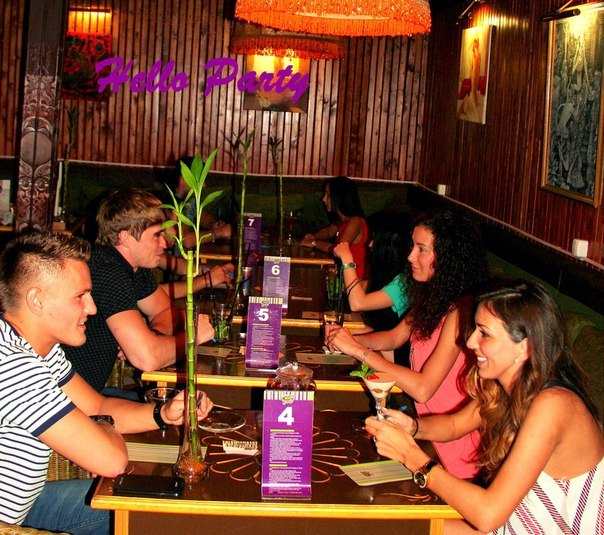 кафе-клубы знакомств в москве