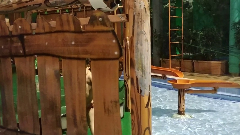 Соня в аквапарке Н2О