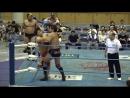 Suwama, Shuji Ishikawa, Atsushi Aoki vs. Kento Miyahara, Yoshitatsu, Naoya Nomura (AJPW - Summer Action Series 2018 - Day 9)