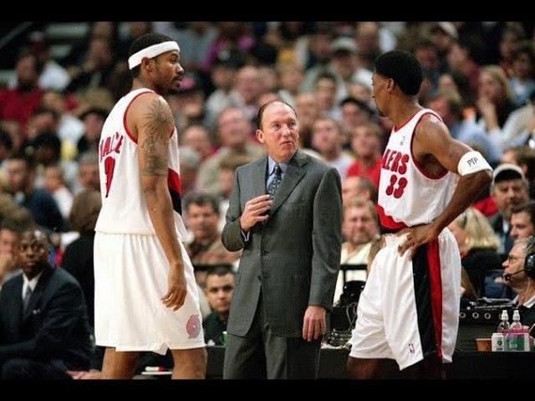 2000 Portland Trail Blazers vs Utah Jazz Game 5 NBA Hardwood Classics
