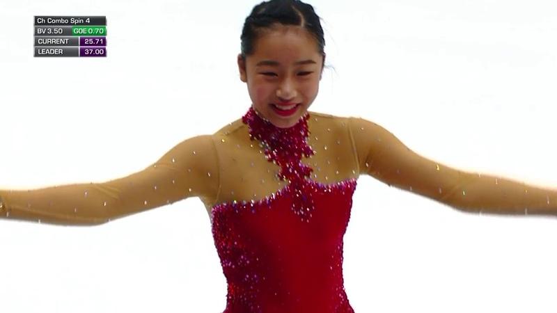 Mako YAMASHITA JPN Short Program 2018 Rostelecom Cup