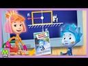 Детский уголок/KidsCorner Фиксики Сила Трения.Как Вытащить Нолика из Лужи.Мультик Книжка