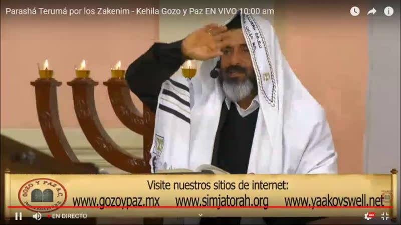 Kehila-Mesianica Gozo-Y-Paz - live via Restream.io