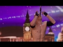 Alexandr Magala risks his life on the BGT stage _ Week 1 Auditions _ Britain's G