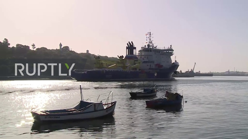 Cuba Russian warships steam into Havana for official visit