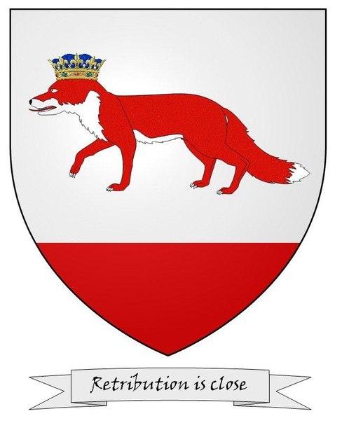 герб лис