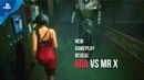 RESIDENT EVIL 2 REMAKE - Ada Wong Vs Mr.X, Leon and Claire New Gameplay