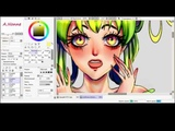 speed painting SAI Strawberry-chan