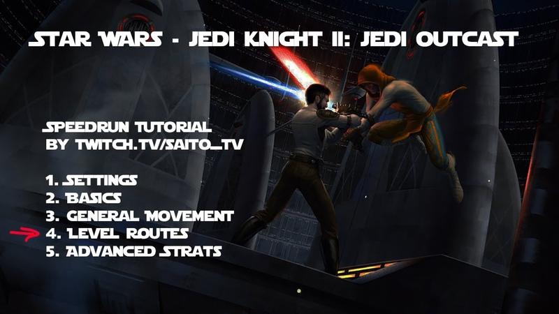 Jedi Outcast Speedrun Tutorial Part 22 map doom comm