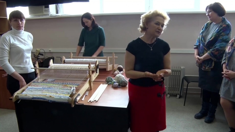 мастер класс ткачество