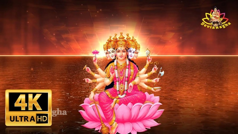 "GAYATRI MANTRA "" OM BHUR BHUVA SWAHA"" MOST POWERFUL HINDU MANTRA"