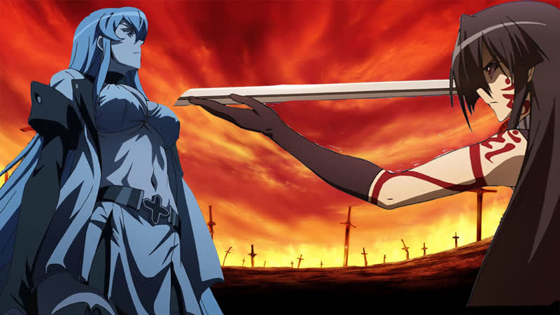 Akame Ga Kill - Akame VS Ezdes Epic Fight/The Last Figt