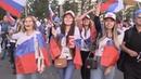 Песни, танцы и кричалки: как в России отметили победу сборной