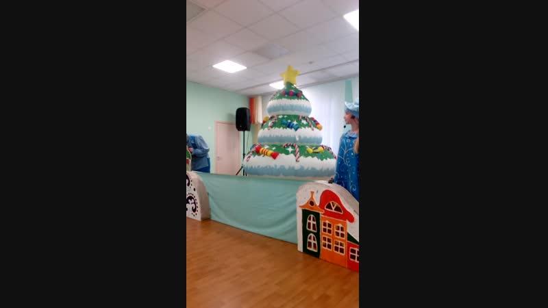 Спектакль Снеговик-Почтовик