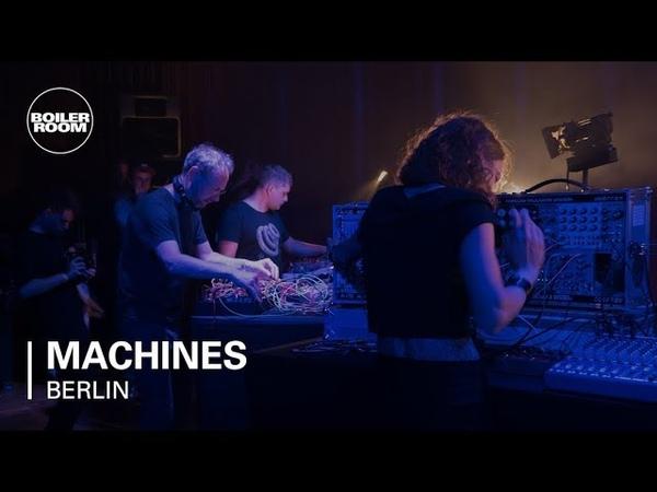 Florian Meindl, Sofus Forsberg, Naty Seres, ZVK with Speedy J | Boiler Room Machines Berlin