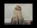 До и после. Трессы волос на клипсах.