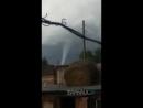 Еще одно видео торнадо в Каменском районе Алтайского края вчера.
