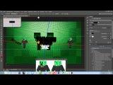 Уроки фотошопа с CS6 от KripMen (делаем новое оформление youtube )
